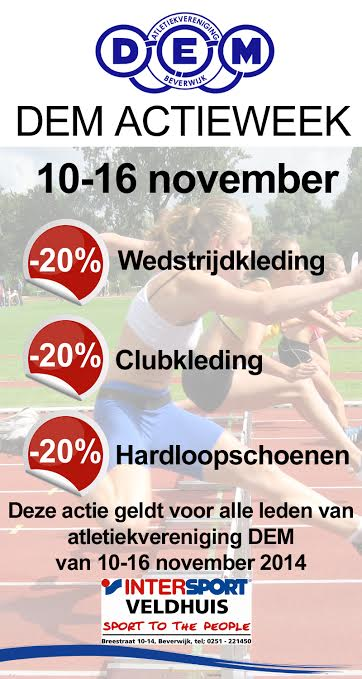 Actieweek intersport