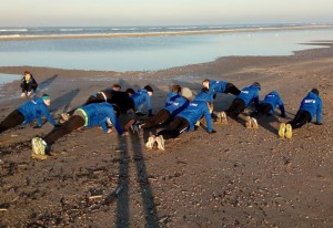 Duin – strand training