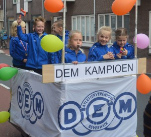 Huldiging in de Breestraat